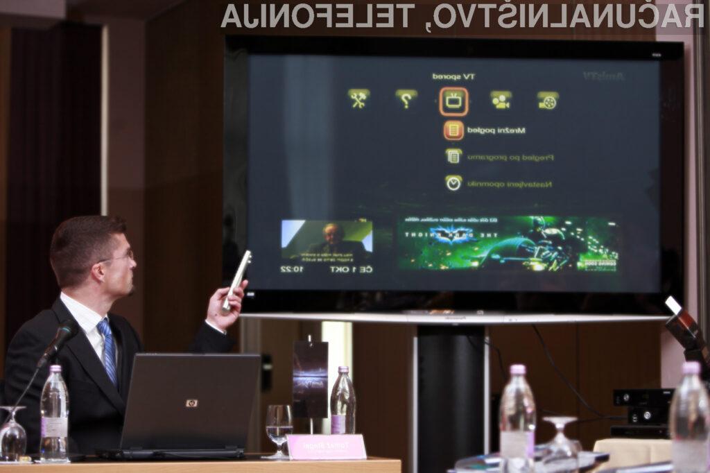 Tomaž Štegel je predstavil prednosti AmisTV 2.0