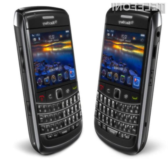 Kompaktni BlackBerry Bold 9700 se ne ustraši niti najzahtevnejših nalog!