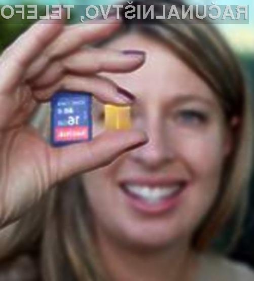 Z inovativno tehnologijo X4 podjetja SanDisk bi lahko proizvajalci podvojili kapacitete vseh pomnilniških kartic.