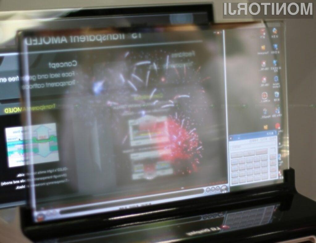 Podjetje LG Electronics želi postati vodilni proizvajalec prozornih zaslonov AMOLED!