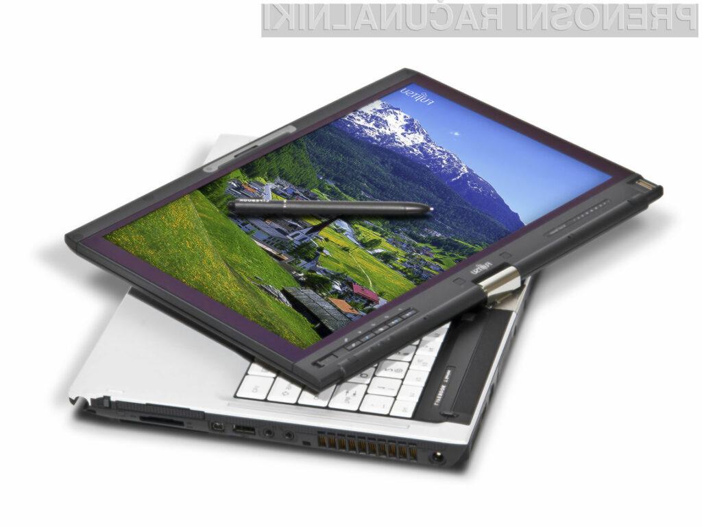 Prenosnik nove generacije podpira težko pričakovane značilnosti operacijskega sistema Windows 7