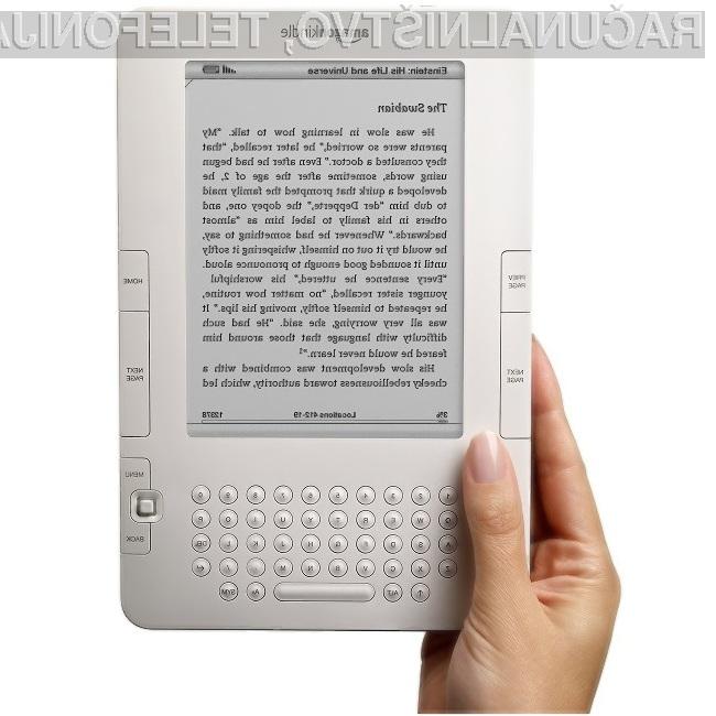 Elektronska knjiga Kindle se v ZDA trži za med!