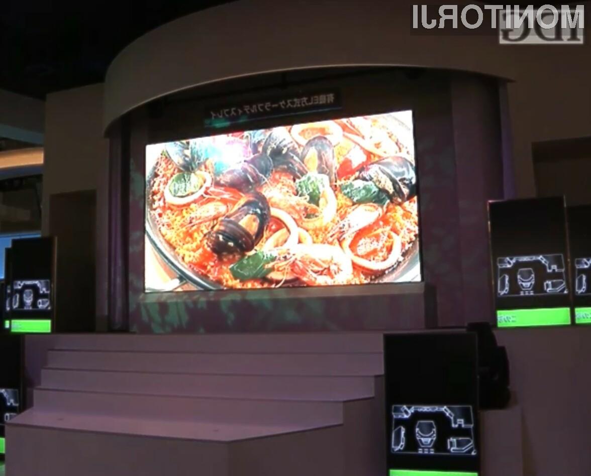 Z modularnim pristopom bi lahko proizvajalci izdelali televizorji poljubnih velikosti in razmerji!