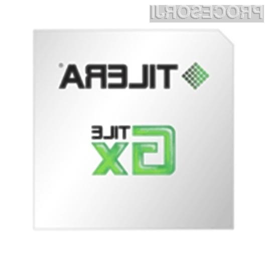 Stojedrni procesor Tilera TILE-Gx100 naj bi pri polni obremenitvi porabil do največ 25 vatov električne moči.