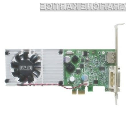 Z inovativno grafično kartico ELSA Gladiac 210 LP x1 hitro do večzaslonskega dela.