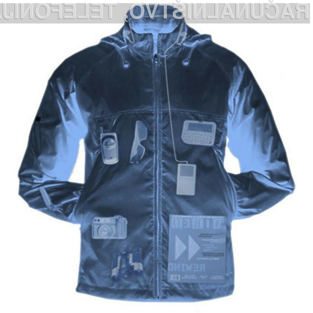 Večnamenska jakna Pack Windbreaker ima za shranjevanje elektronskih pripomočkov več kot dovolj prostora!