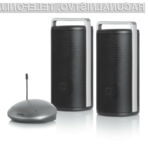 Brezžični stereo zvočniki z oddajnikom SpeakerAnywhere200