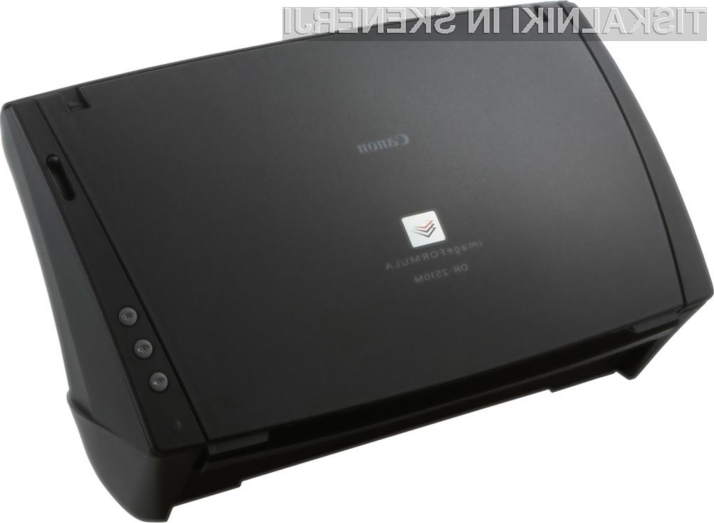 imageFORMULA DR-2510M: Canonovi novi dokumentni bralniki so odgovor na vse pogostejšo uporabo računalnikov Mac v ustvarjalnih poklicih in običajnih poslovnih okoljih