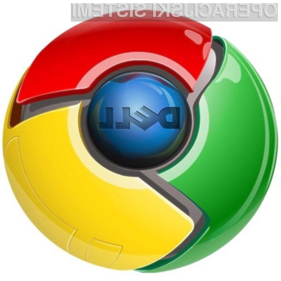 Googlov operacijski sistem Chrome OS se odlično prilega žepnemu računalniku Dell Mini 10v.