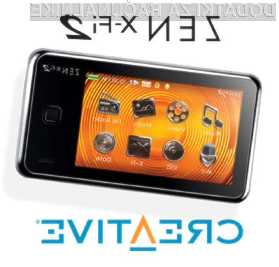 Maloprodajne cene novega predvajalnika podjetja Creative so glede na konkurenco zelo mamljive!