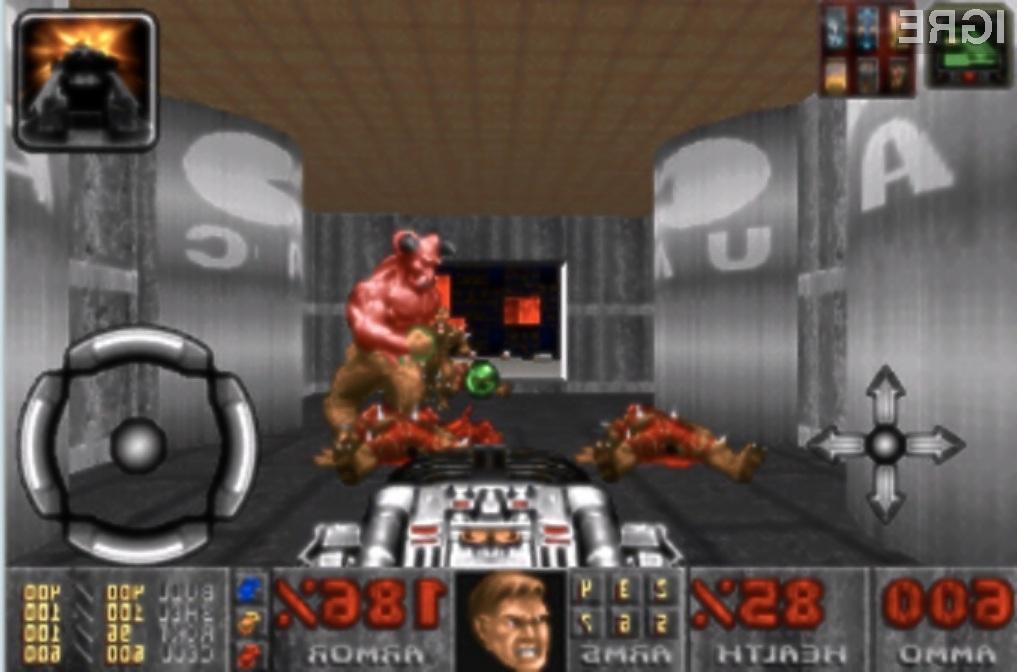 Mobilna prvoosebna streljačina Doom preprosto navdušuje!