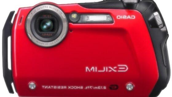 Na vse odporen Casio EX-G1 bo na voljo v redeči in črni barvi.