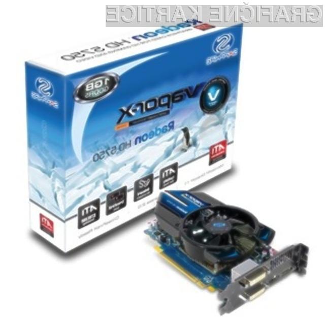 V kolikor ste grafično kartico Sapphire Radeon HD 5770 Vapor-X kupili pred kratkim, preverite število aktivnih združenih procesorjev!