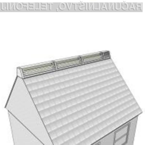 Ali bi imeli vetrno elektrarno na strehi svoje hiše?