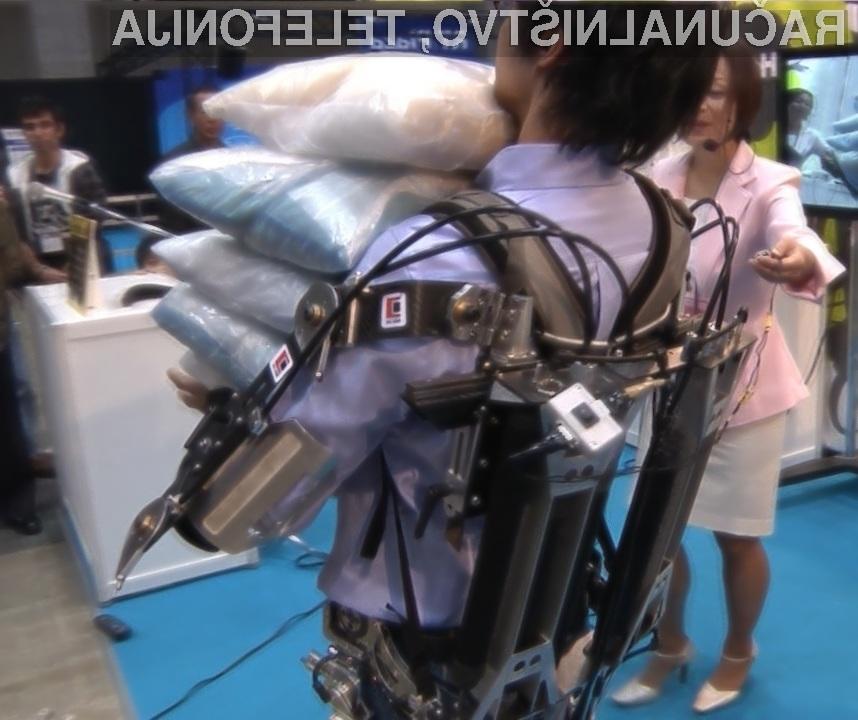 Robotska obleka naj bi precej olajšala vsakodnevna opravila!