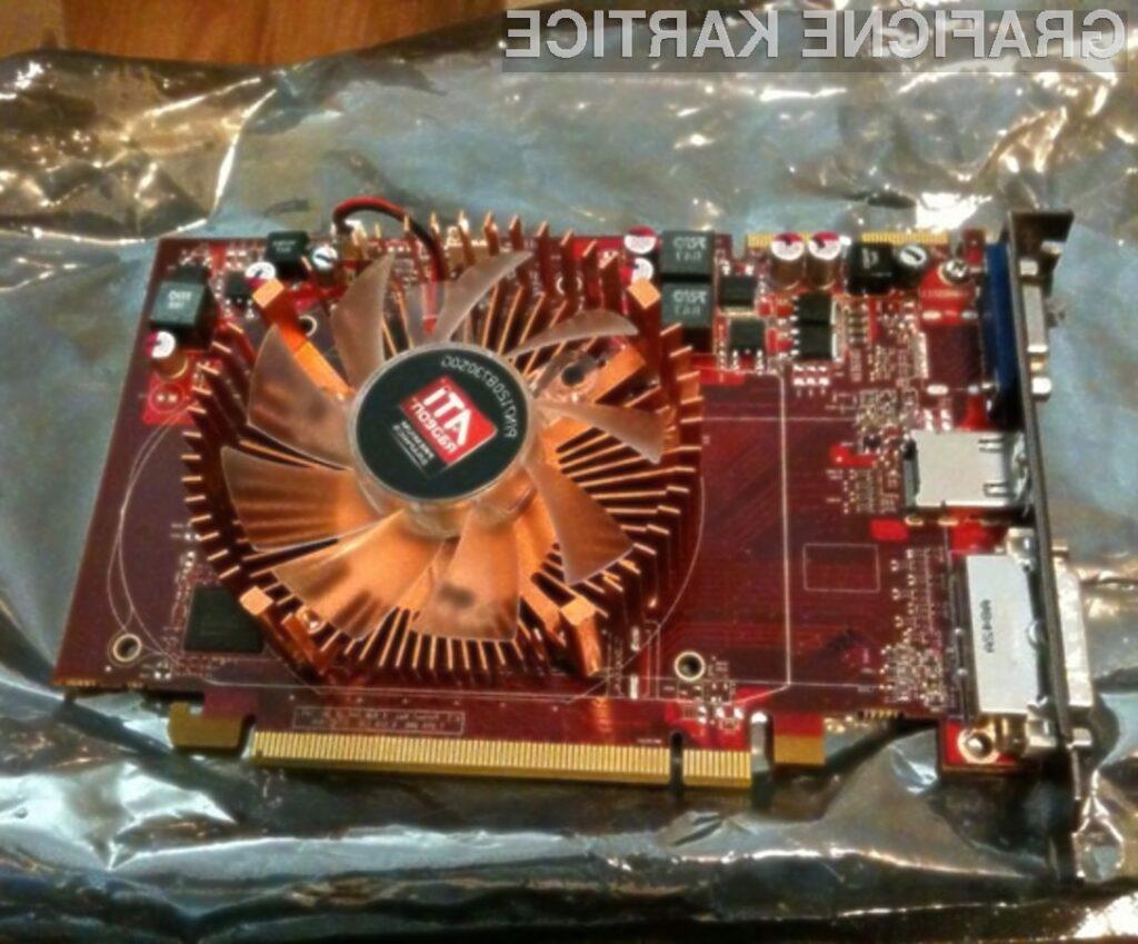 Grafična kartica AMD/ATI Radeon HD 5670.