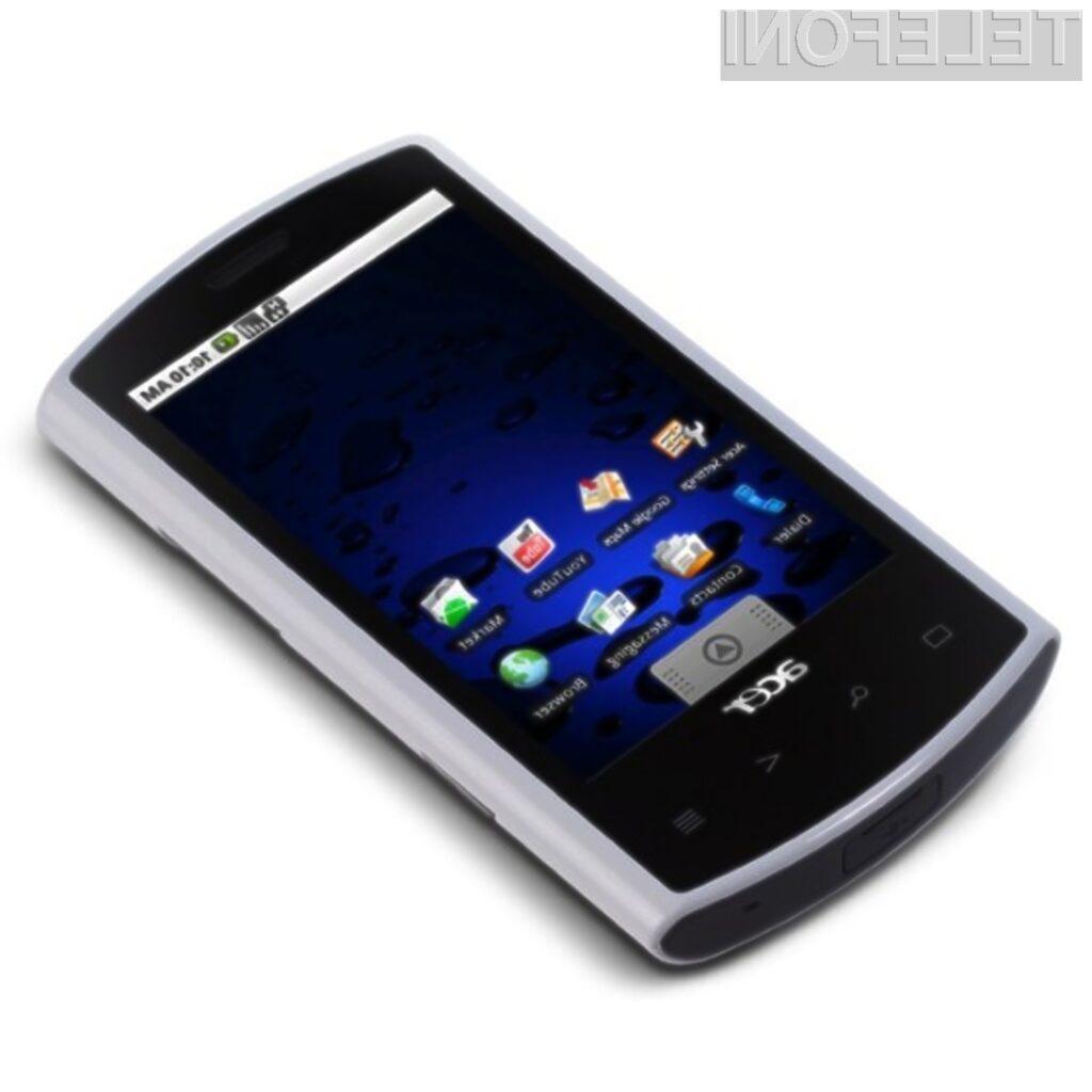 Acer Liquid A1 velja za enega zmogljivejših pametnih mobilnih telefonov, opremljenih s platformo Android.