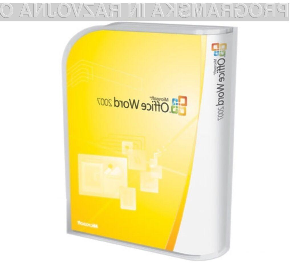 Microsoft je tokrat potegnil kratko!