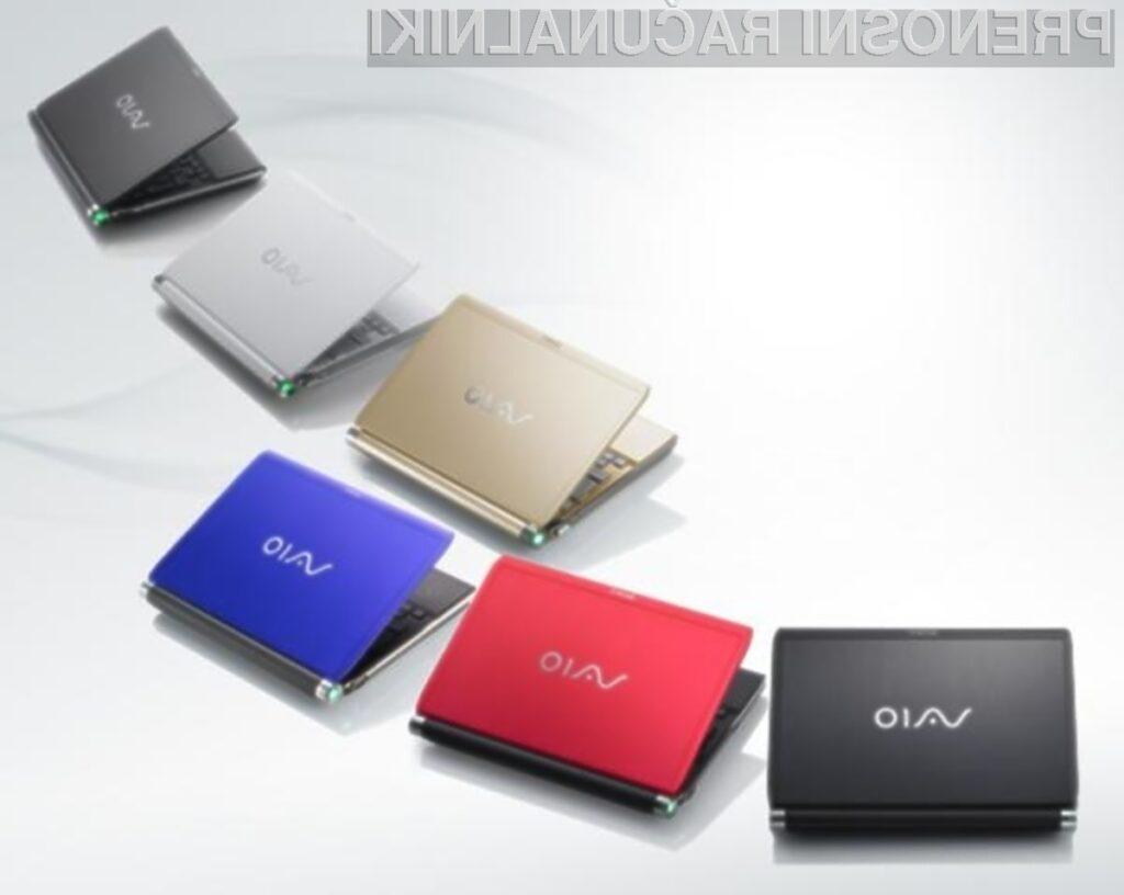 Prenovljene prenosnike Sony Vaio T odlikujejo vrhunski dizajn, prenosljivost in dobra vrednost.