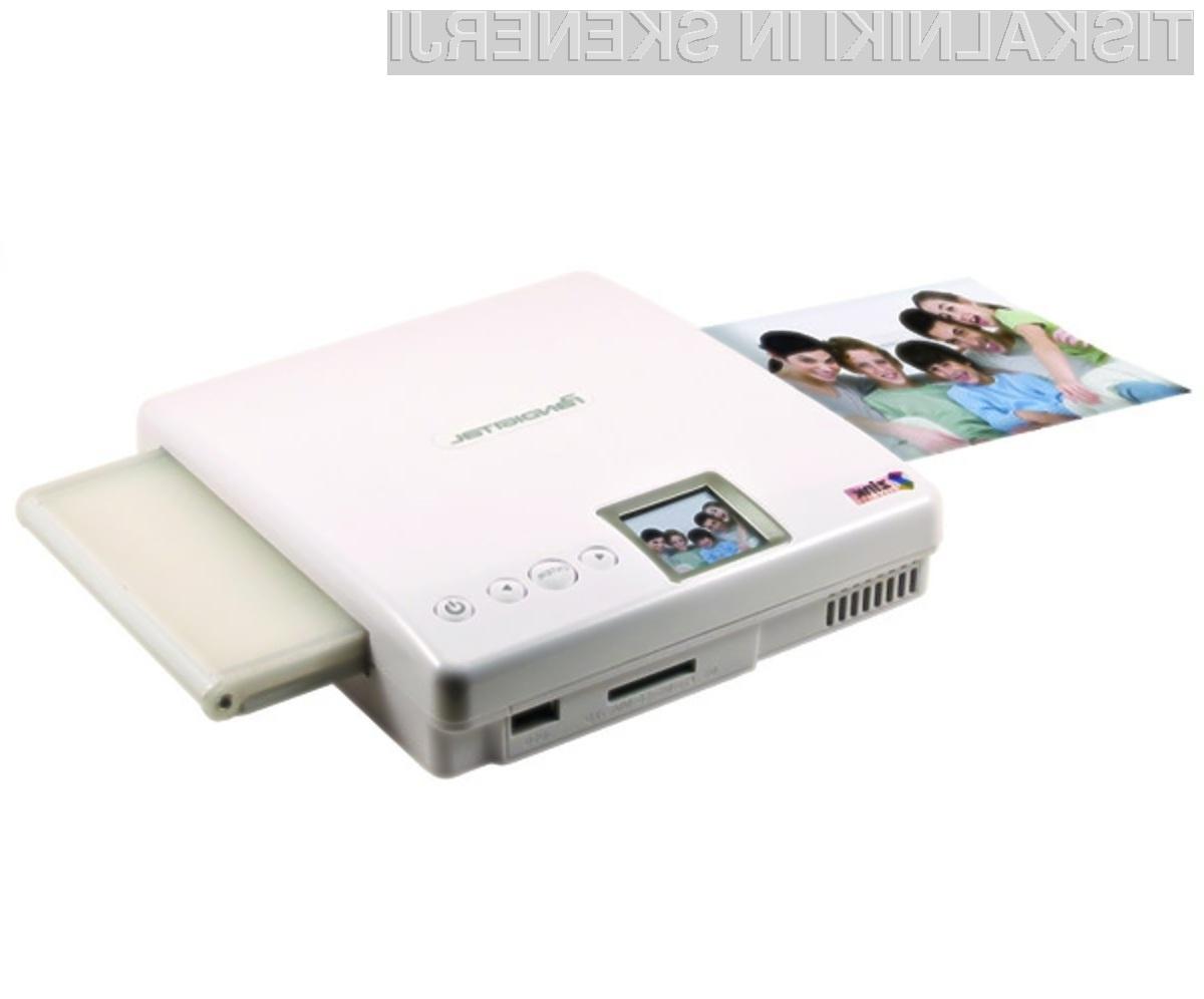 Tiskalnik brez barvila bo kot nalašč za imetnike prenosnih naprav.