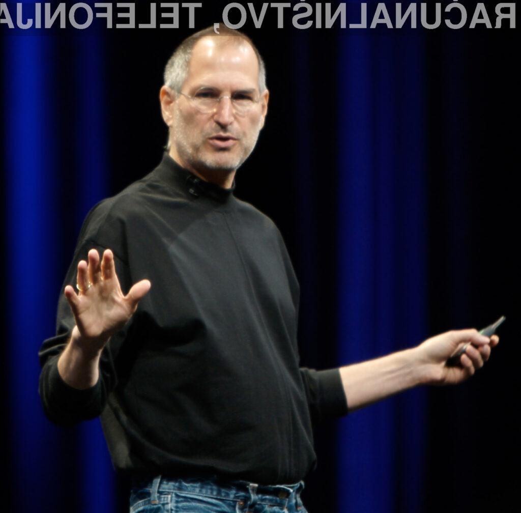 Steve Jobs je s poslovanjem podjetja lahko zadovoljen.