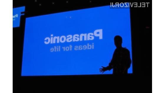 Velikost Panasonicove 3D plazme je navdušila marsikaterega obiskovalca sejma CES.