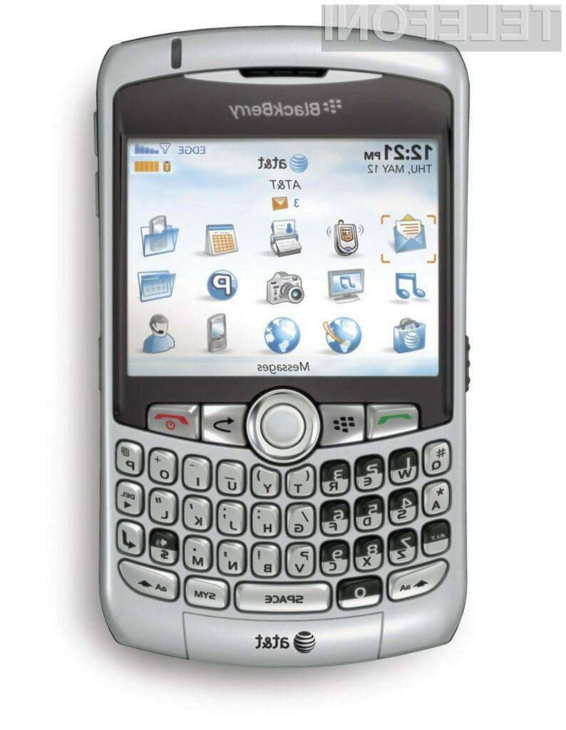 Mobilnik BlackBarry ter ostali bodo kmalu delovali na omrežju 4G.