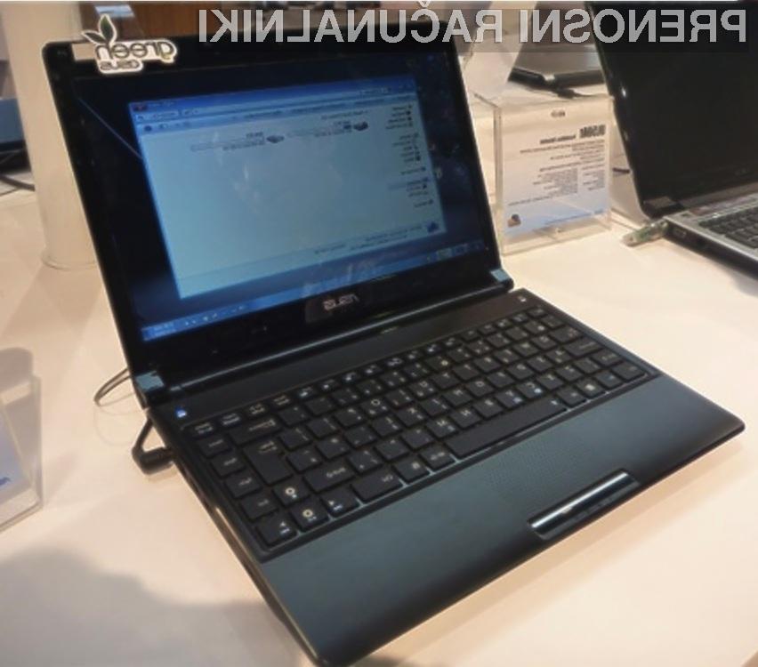 CES 2010: Asus UL80JT – prenosni računalnik za najzahtevnejše