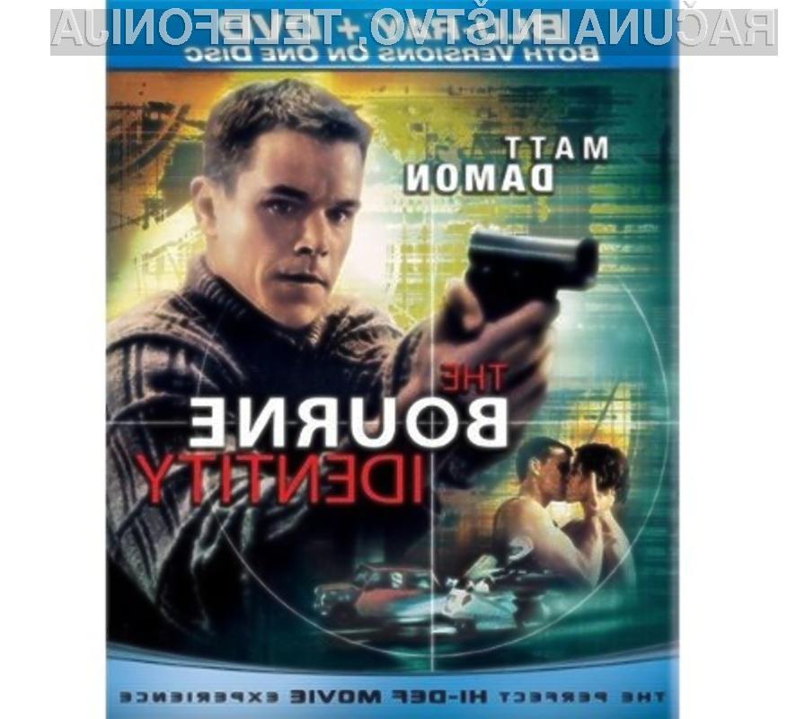 Filmsko uspešnico Bourne Identity lahko odslej predvajamo tako v predvajalnikih DVD kot tudi Blu-ray.