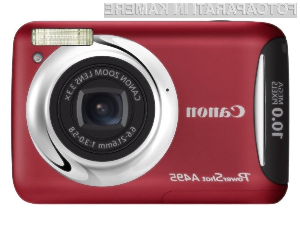 Pametna, zabavna in enostavna - Canonova nova PowerShota A495 in A490