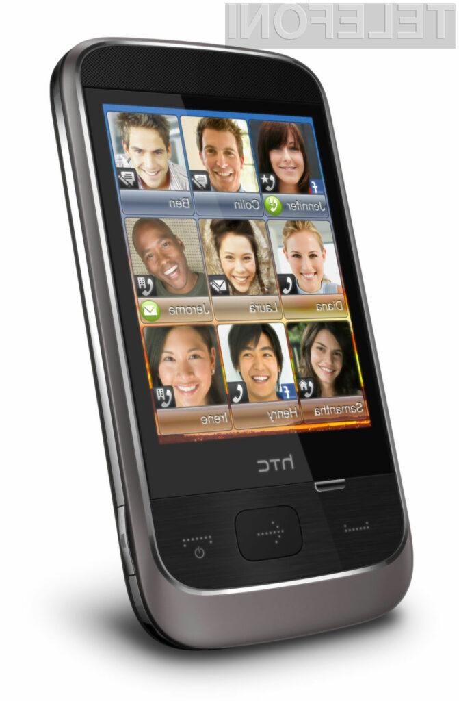 Vizualnost ni šibka točka mobilnika HTC Smart