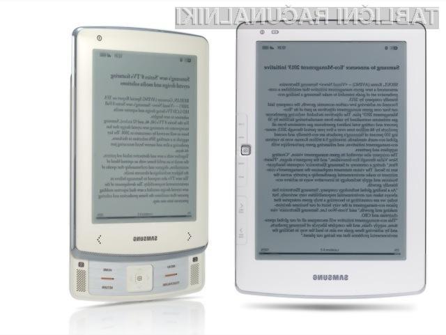 Samsungovi napravi bosta popestrili segment e-bralnikov.