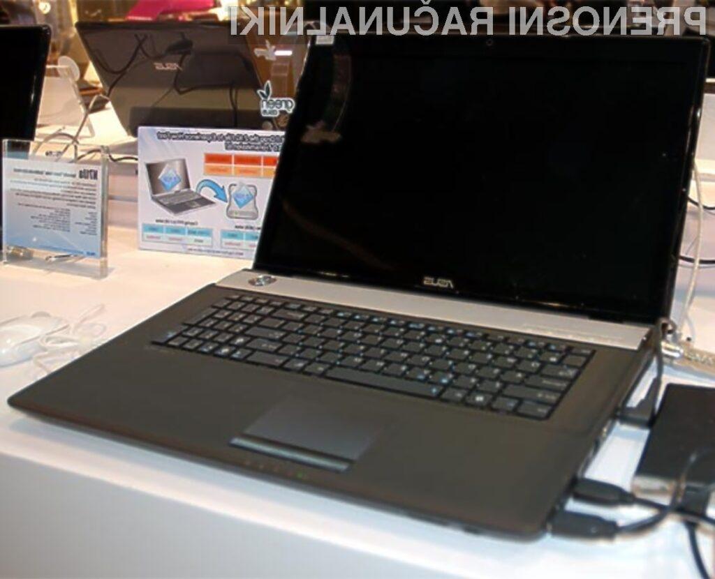 Prenosni računalnik Asus N71Jq je pisan na kožo tudi najzahtevnejšim računalničarjem!