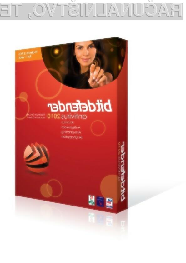 Bitdefender Antivirus 2010 za 3 uporabnike