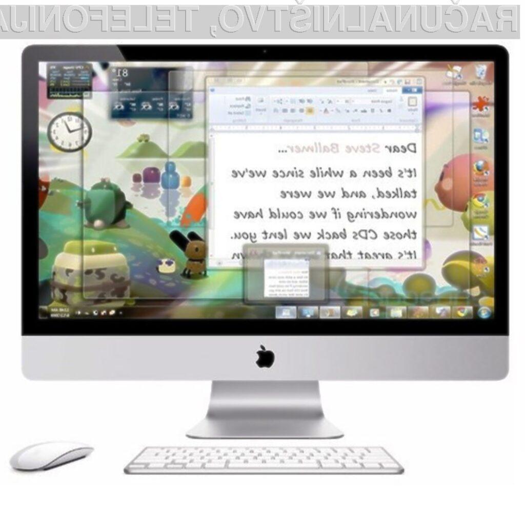 Apple je s prenovljenim programom Boot Camp omogočil namestitev sistema Windows 7 na svoje računalnike.