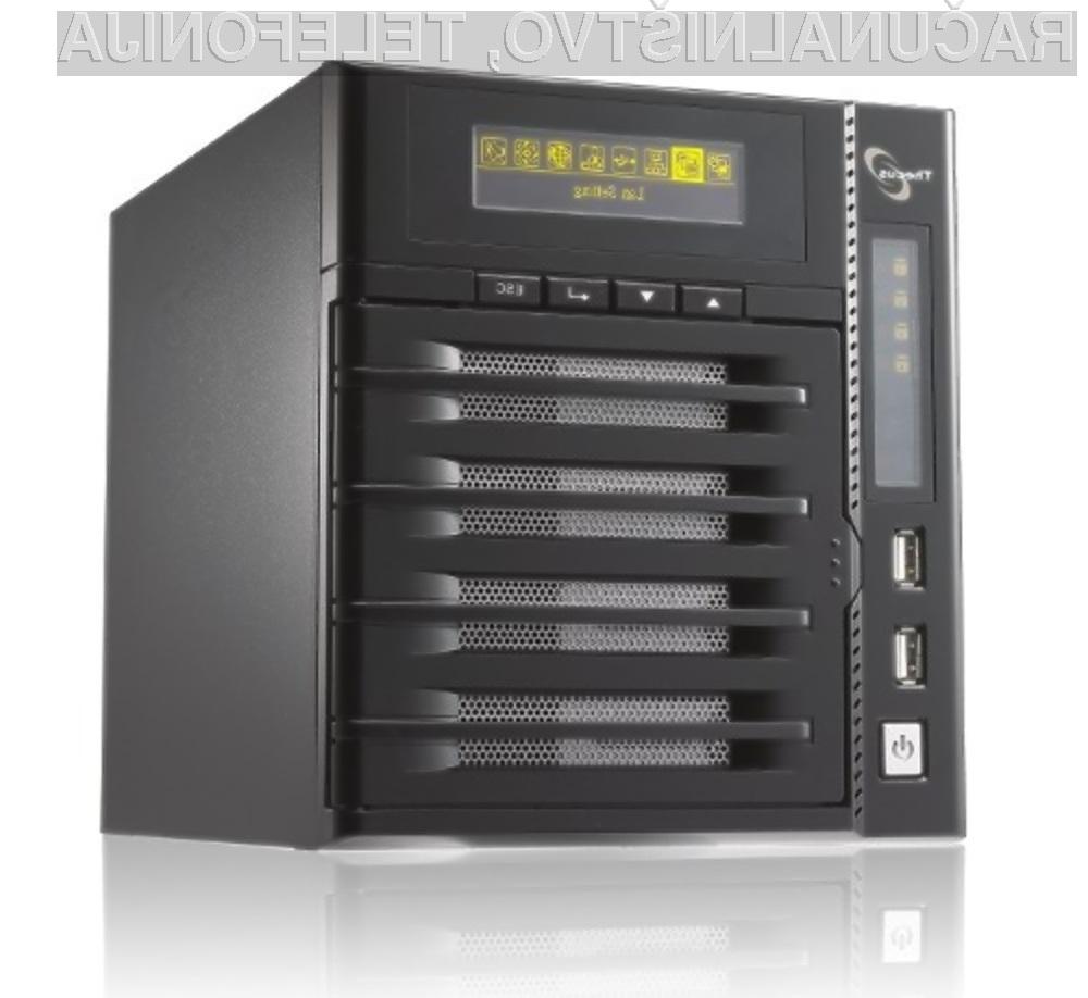 Diskovno omrežje Thecus N4200 je kot nalašč tudi za domače uporabnike!