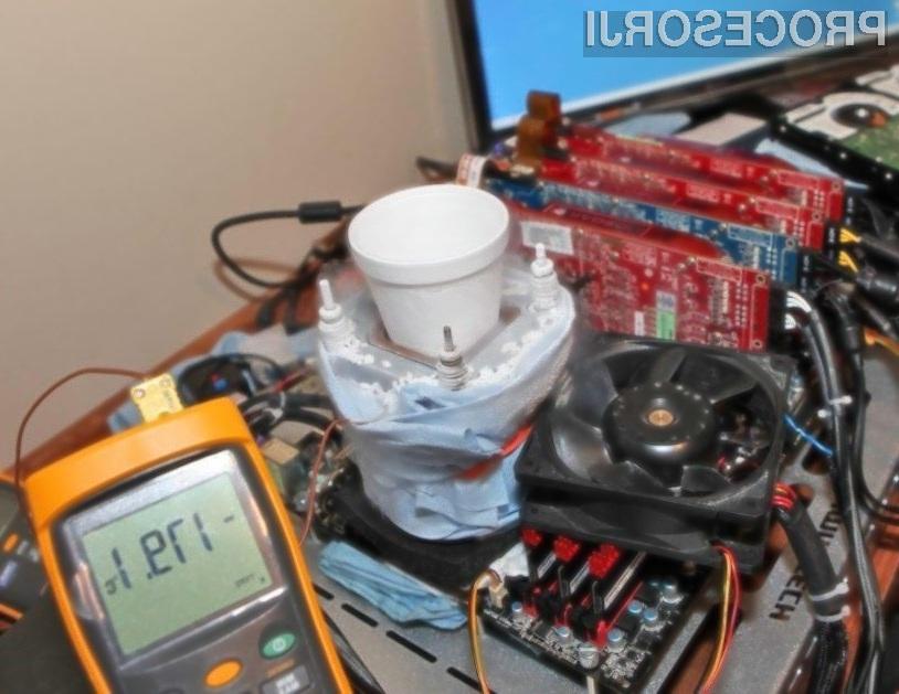 Intelov procesor Core i7-980X se navija kot za šalo!