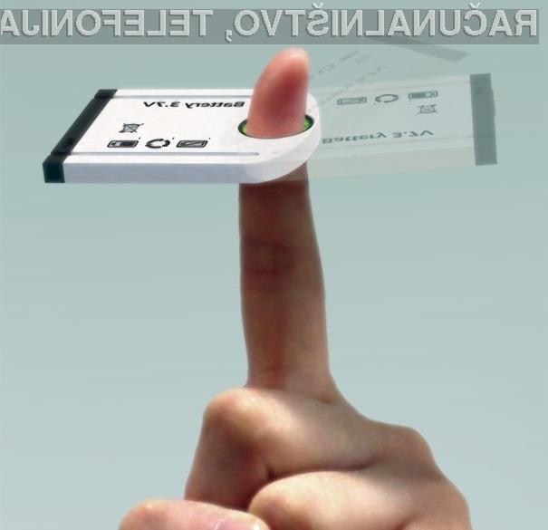 Z inovativno baterijo bodo pametni mobilni telefoni vedno preskrbljeni z električno energijo!