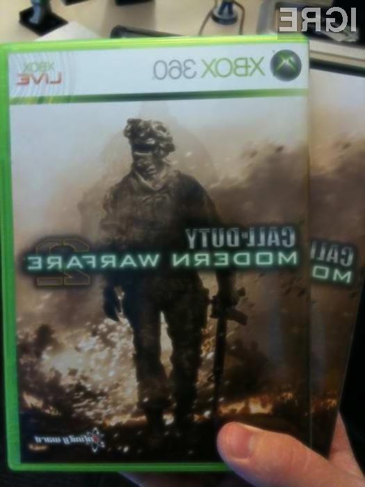 Lani prodanih 12 milijonov kopij igre Modern Warfare 2