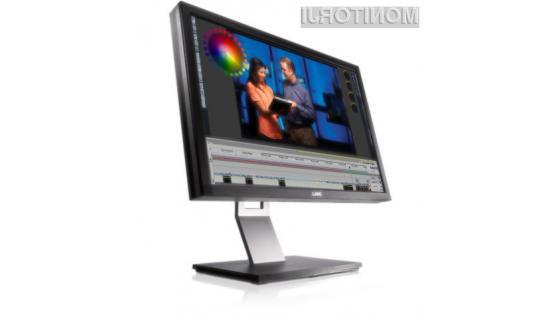Dell UltraSharp U2410 omogoča obračanje ekrana za 90 stopinj.