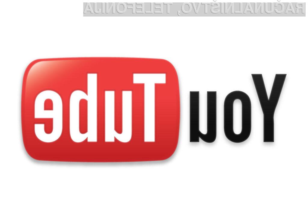 YouTube je med posameznimi stranmi še naprej krepko v vodstvu.