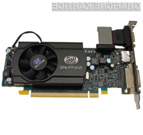 Grafično kartico Sapphire Radeon HD 5570 je že mogoče kupiti tudi pri nas!