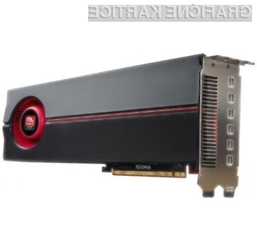 Grafično zverinica AMD/ATI Radeon HD 5870 Eyefinity 6 Edition bo kot nalašč za večzaslonsko delo!
