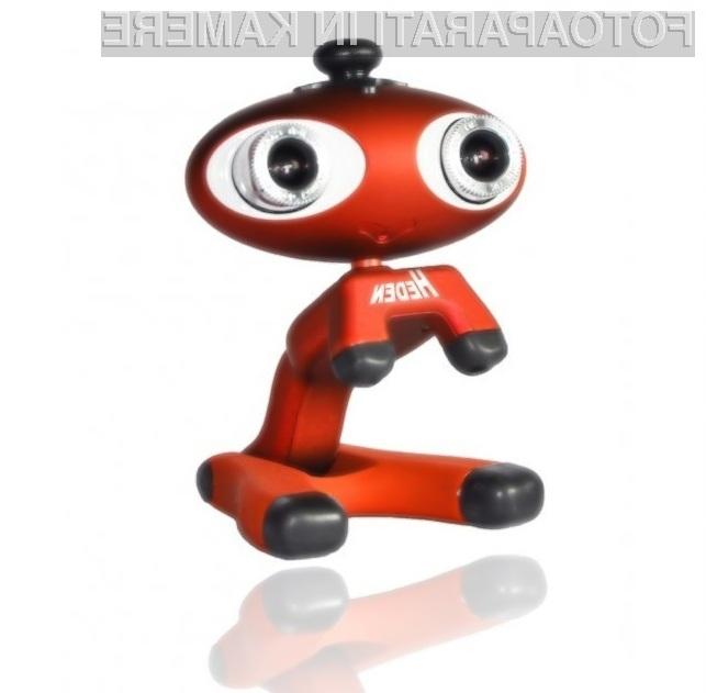 Tridimenzionalna spletna kamera Heden Webcam 3D bo zagotovo razveselila predvsem najmlajše.