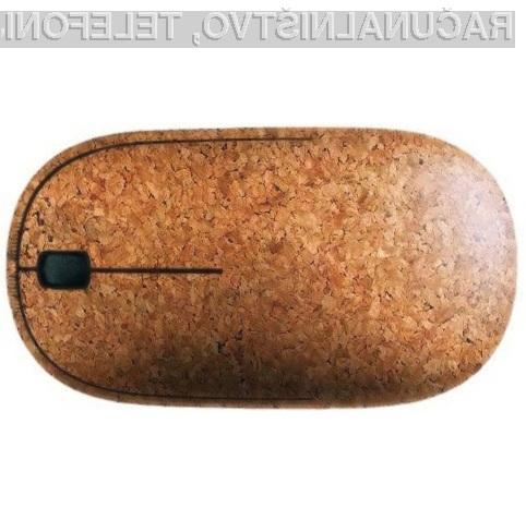 Brezžična računalniška miška Corky ne potrebuje okolju spornih baterij!