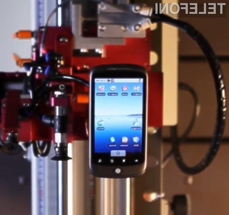 Googlov prvi mobilni telefon Nexus One brez težav prenese tudi najhujše obremenitve!