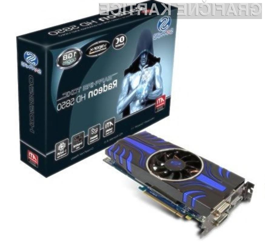 Nadvse zmogljiva Sapphire Toxic HD 5850!
