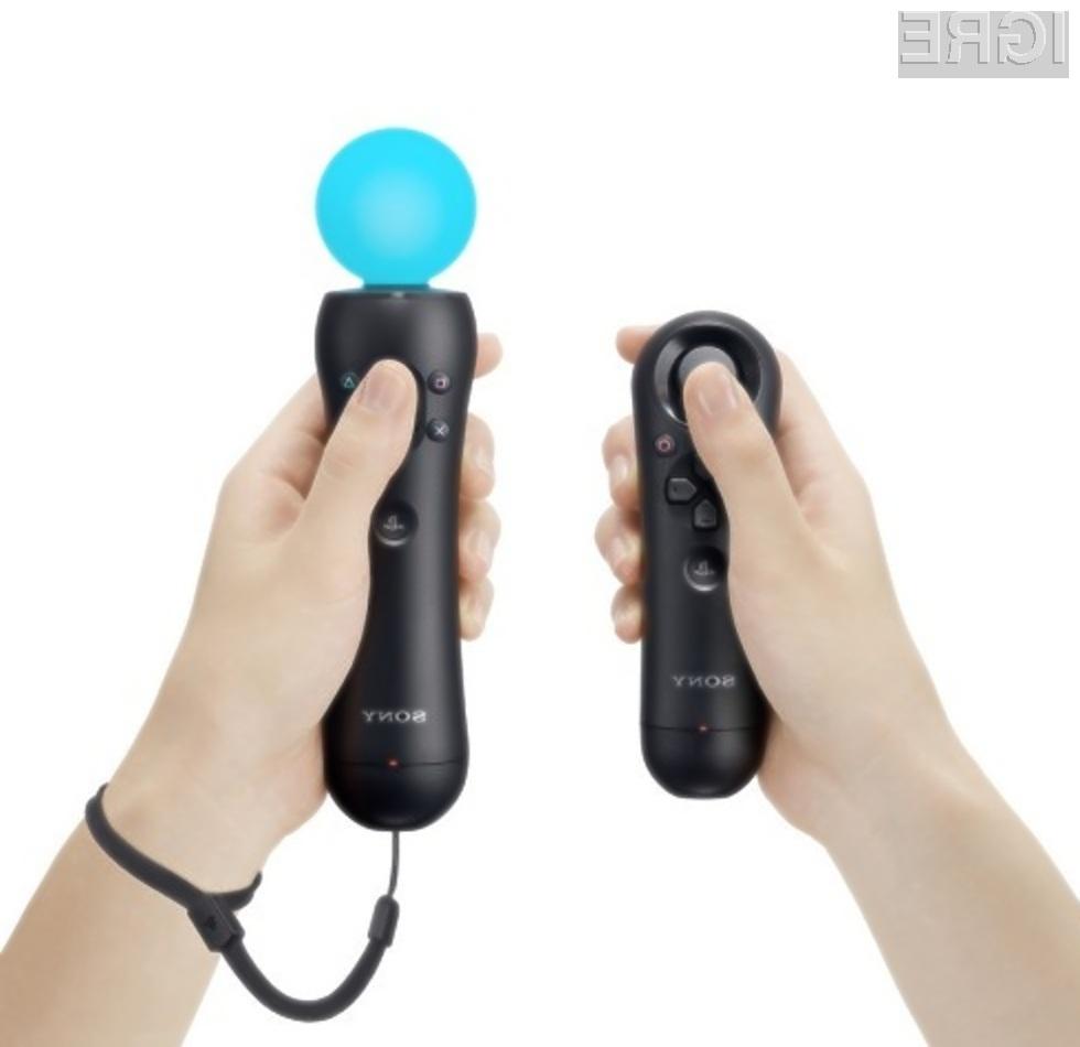 Brezžični Sonyjev krmilnik PlayStation Move nudi izjemne igričarske izkušnje!