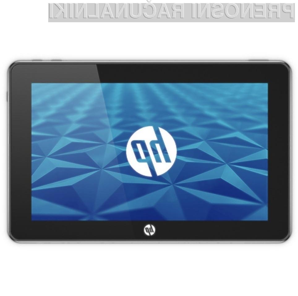 Tablični računalnik HP Slate bi lahko bil resen tekmec Applovemu iPadu.