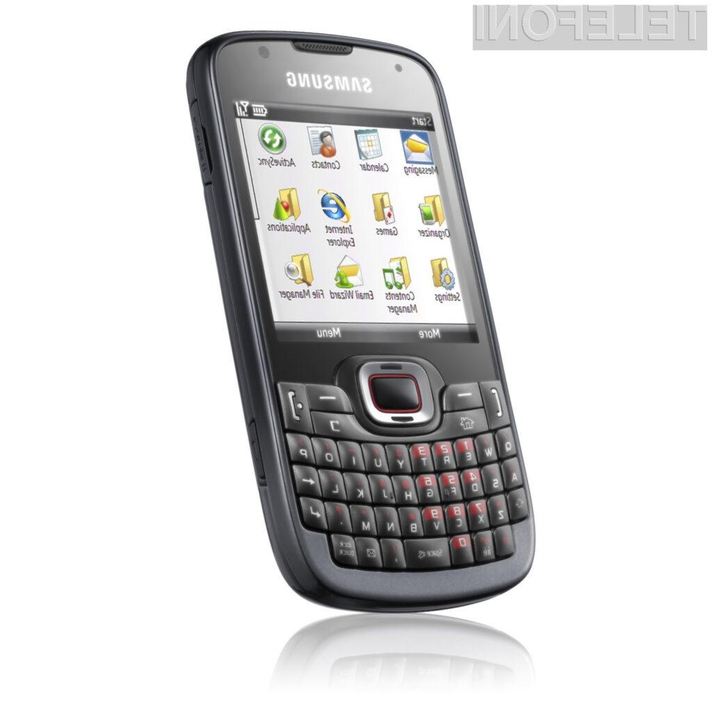 Samsung OmniaPRO B7330 odslej s slovenskim paketom
